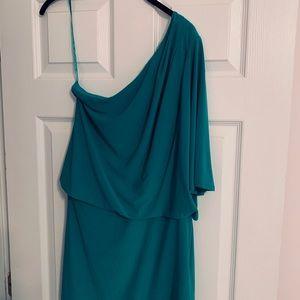 Jessica Simpson One Shouldered Dress